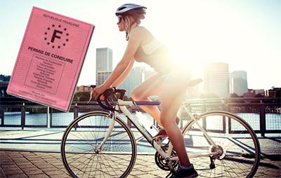 le vélo et le permis