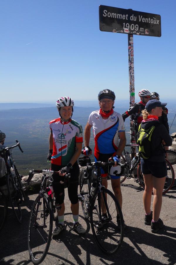Rencontre avec une Tulliste au sommet du Mt-Ventoux