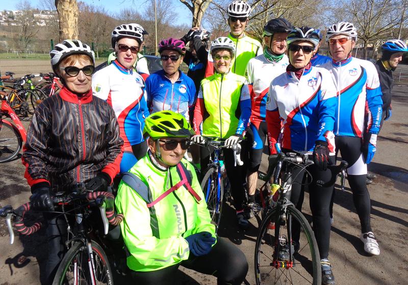 Cyclo-promenade du jeudi 08 mars 2018