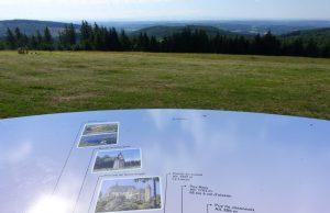 Vue panoramique depuis la tour du Mont Bessou (Alt. 1000m)