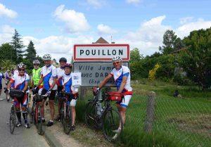 Retour à Pouillon, la boucle est bouclée!