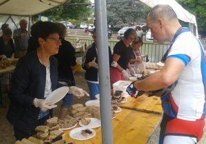 """Une """"solide"""" équipe pour servir les 500 participants vélo route, marche et VTT"""