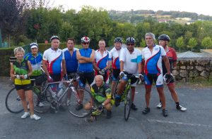 Groupe de cyclos