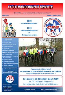 bulletin CRB janvier-février 2019