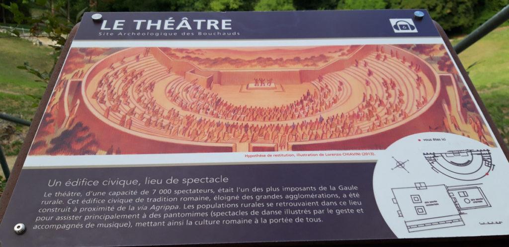 Théâtre gallo-romain des Bouchauds